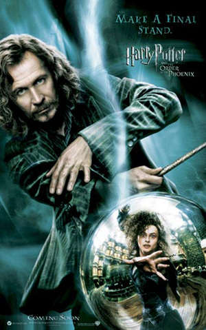 Sirius Black in Harry Potter and the Order of Phoenix