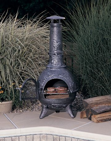 Warming Outdoors with Chimineas