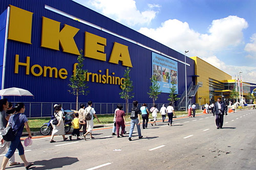 IKEA - the largest furniture retailer in the world.