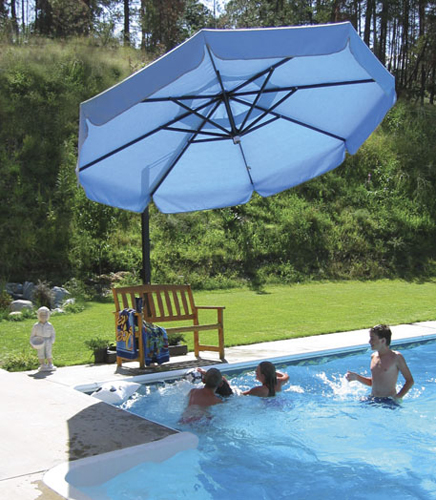Retractable Patio Umbrella