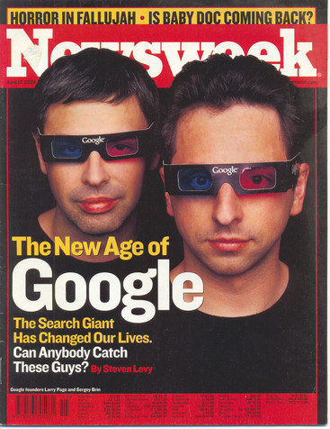 Google's Founders: Larry Page and Sergey Brin