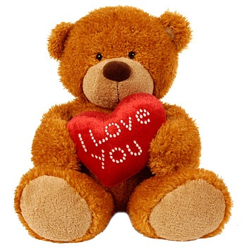 Personalized Teddy Bear For Valentines Day