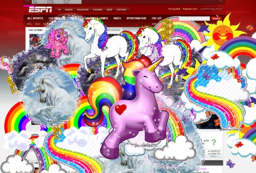 espn website hacked