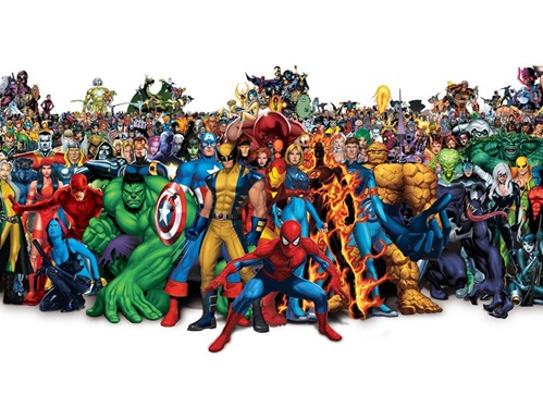 marvel superhero family