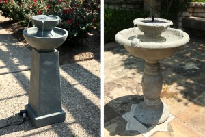 Electric and Solar Fountains